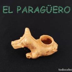 Arte: VALE PARA COLGANTE RARO CATURRO PRECOLOMBINO QUIMBAYA DE ORO TUMBAGA PESO 29 GRAM-T53. Lote 212944583