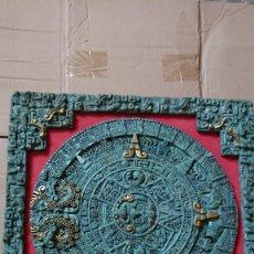 Arte: PIEDRA DEL SOL O CALENDARIO AZTECA. Lote 214344721