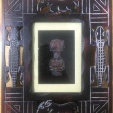 Arte: CUADRO ETNICO CON MASACARA AFRICANA. Lote 214510351