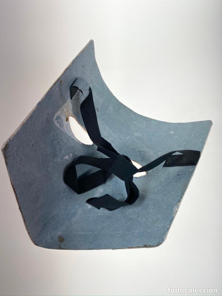 Arte: Máscara Veneciana de Carnaval con dibujo erótico pintada a mano - Única - Foto 4 - 214845802