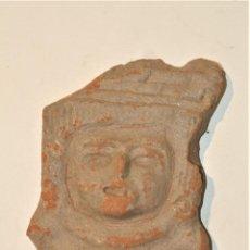 Arte: RELIEVE EN TERRACOTA PRECOLOMBINO MEDIDAS 5 X 5,5 X 0,5 CM. Lote 214859456