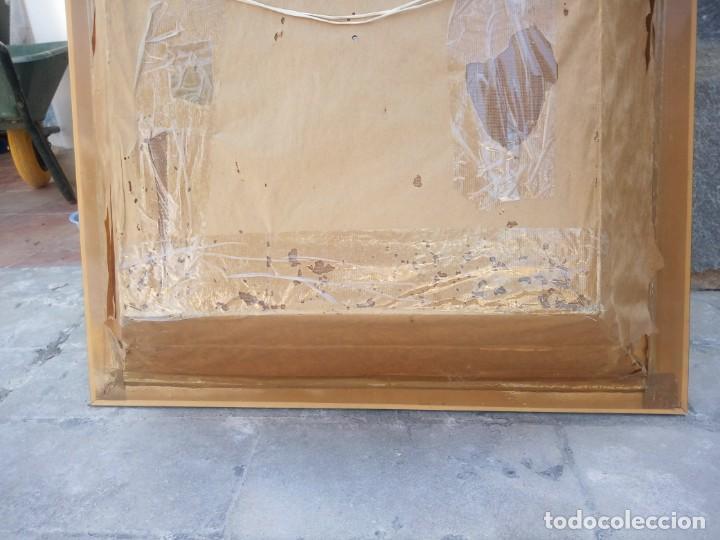 Arte: Extraordinario y antiguo cuadro máscara fang de jefe de tribu en 3d en el interior del cuadro. - Foto 17 - 215838852