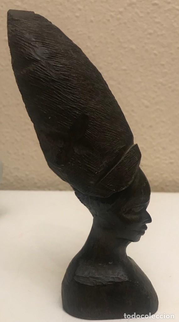 BUSTO ÁFRICA MUJER EBONY (Arte - Étnico - África)