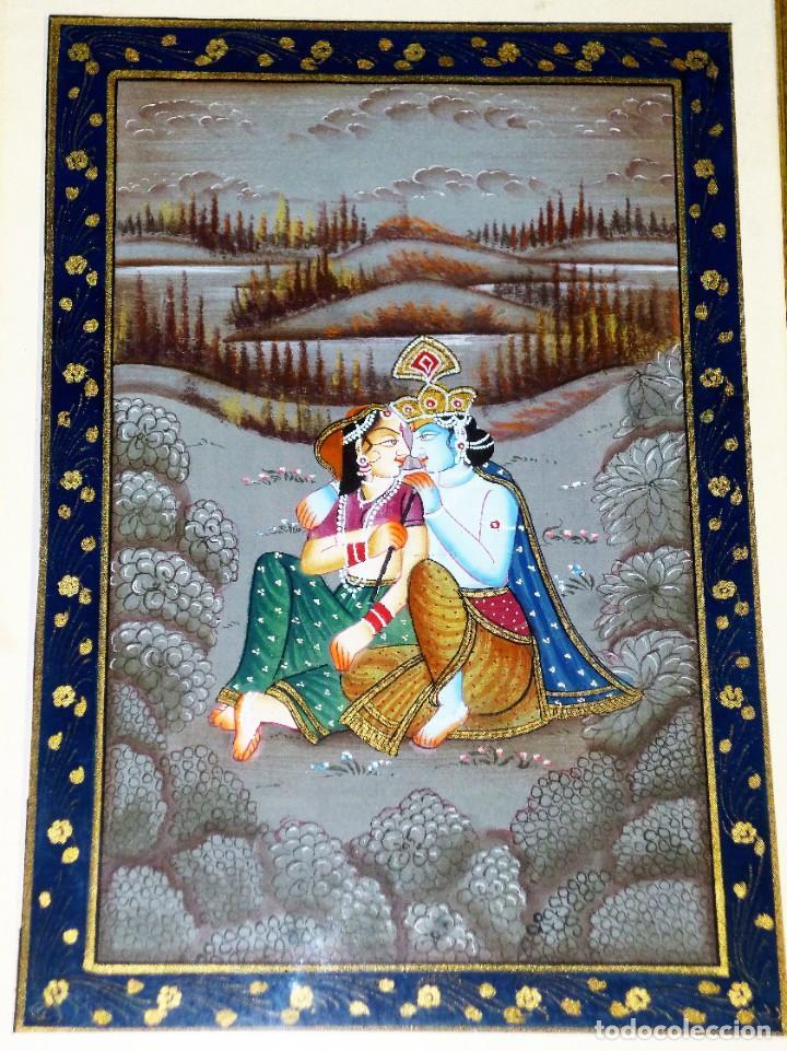 Arte: Pintura oriental sobre tela - Foto 2 - 216400873