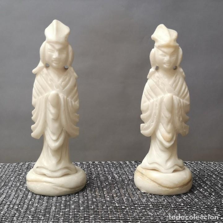 PAREJA FIGURAS CHINAS (Arte - Étnico - Asia)