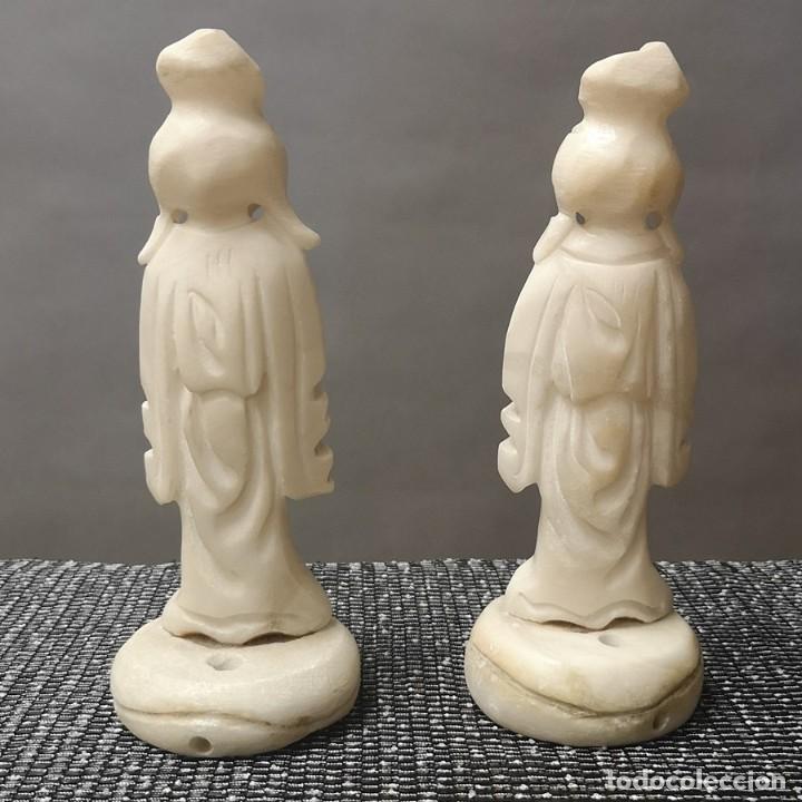 Arte: Pareja Figuras Chinas - Foto 4 - 217036731
