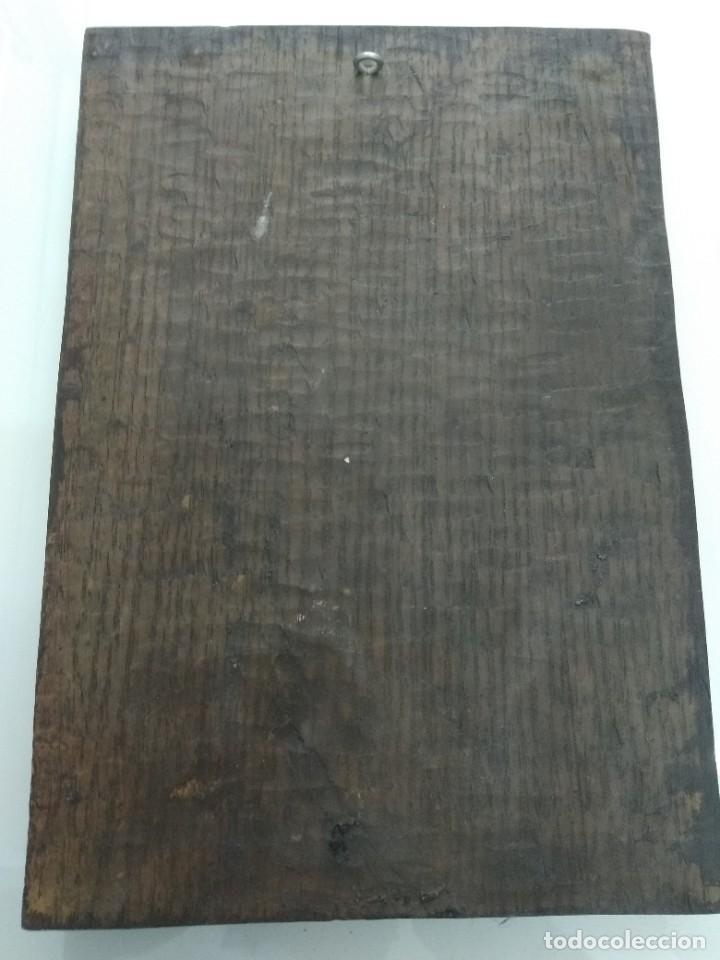 Arte: Cuadro antiguo relieve AIZKOLARI DEPORTE VASCO Tallado y policromado lauburu Pais Vasco - Foto 4 - 218685587