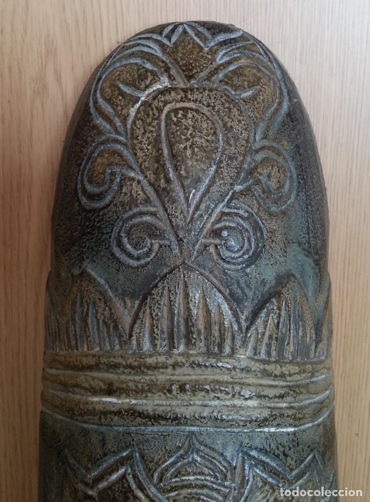 Arte: Máscara de madera tallada. Preciosa. - Foto 3 - 219276358