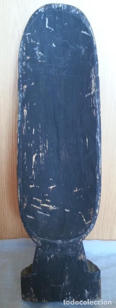 Arte: Máscara de madera tallada. Preciosa. - Foto 5 - 219276358