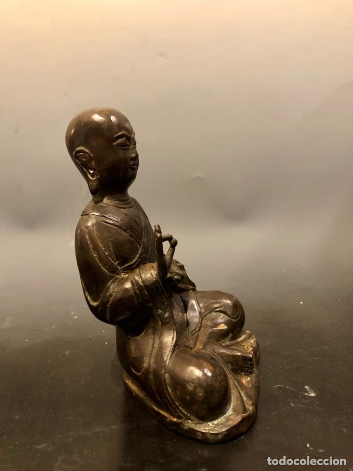 Arte: Buda con rata, siglo XVII BRONCE - Foto 4 - 219441015