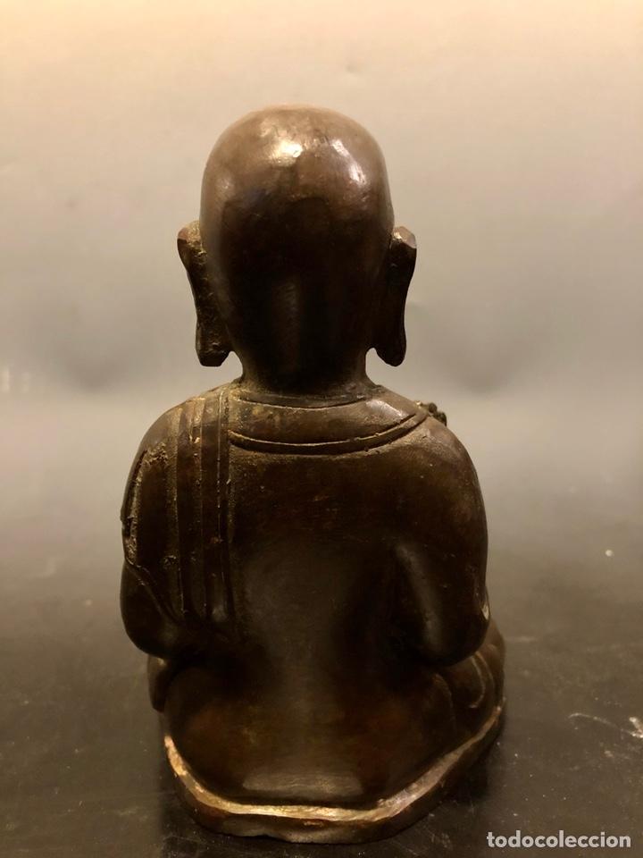 Arte: Buda con rata, siglo XVII BRONCE - Foto 5 - 219441015