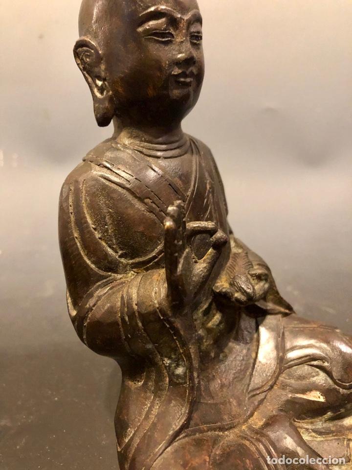 Arte: Buda con rata, siglo XVII BRONCE - Foto 7 - 219441015