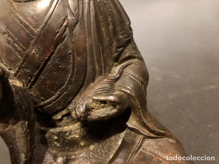 Arte: Buda con rata, siglo XVII BRONCE - Foto 8 - 219441015