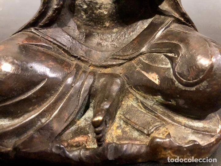 Arte: Buda con rata, siglo XVII BRONCE - Foto 9 - 219441015