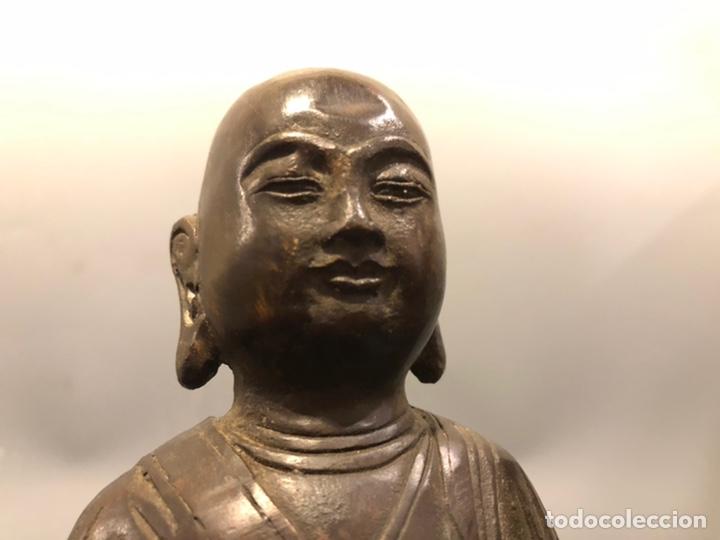 Arte: Buda con rata, siglo XVII BRONCE - Foto 11 - 219441015