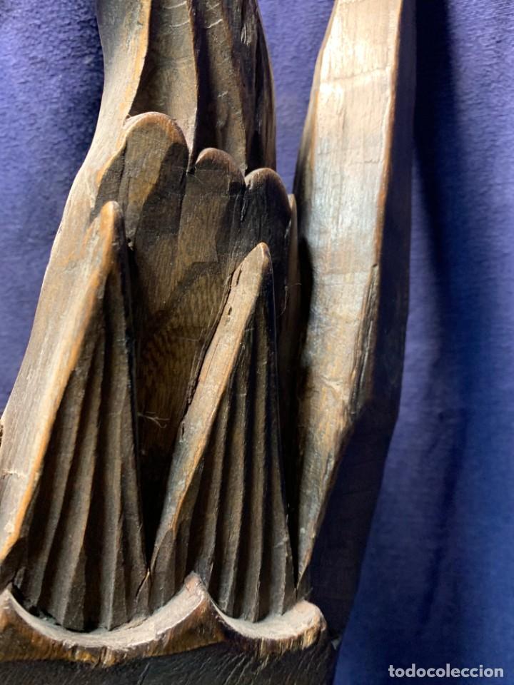 Arte: gran mascara china de madera tallada guizhou beijing 65x32x18cms - Foto 20 - 220522300