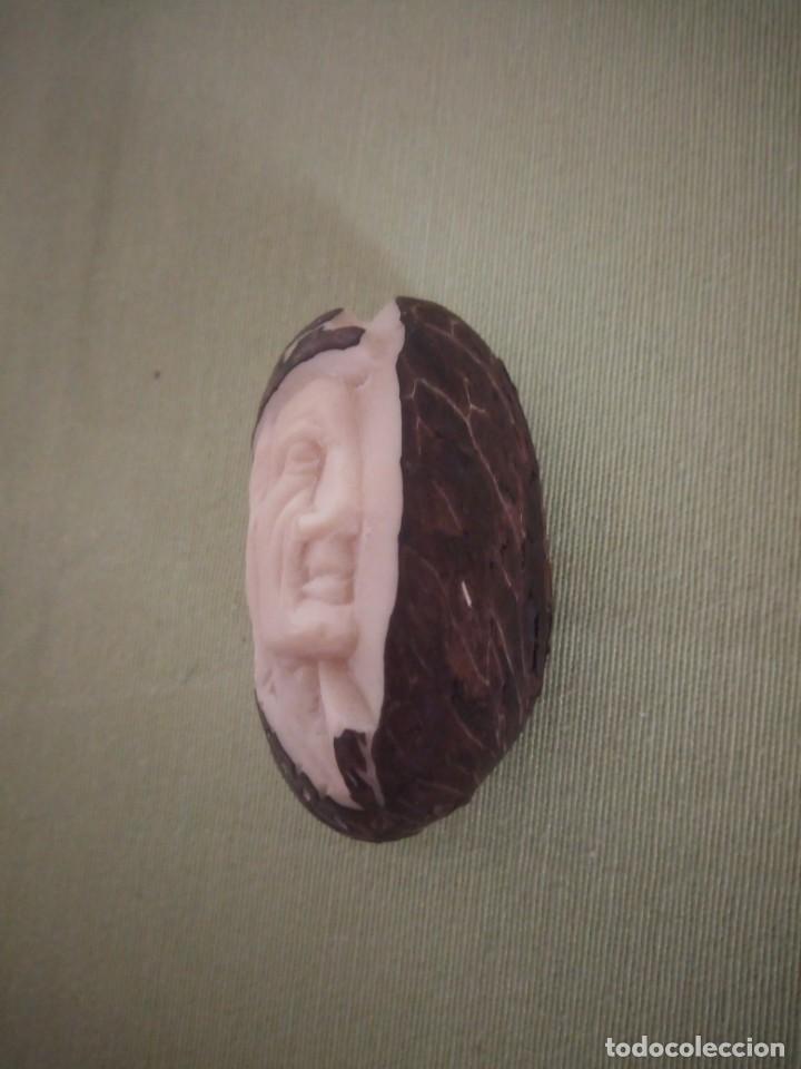 Arte: Imagen tallada en semilla tagua,marfil vegetal. - Foto 2 - 220602228