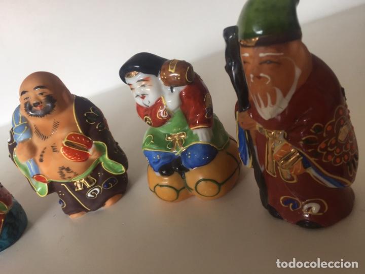Arte: Lote de figuras asiáticas - Foto 2 - 221504525