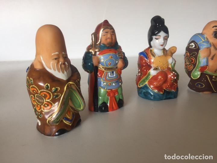 Arte: Lote de figuras asiáticas - Foto 3 - 221504525