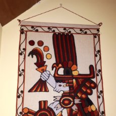 Arte: TAPIZ HECHO A MANO MÉXICO. Lote 221975315
