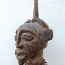Arte: ARTE AFRICANO. GRAN FIGURA SONGYE. CONGO.. Lote 222013572