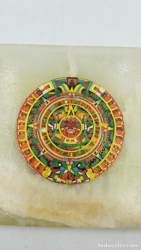 PIEDRA SOL CALENDARIO AZTECA (Arte - Étnico - América)