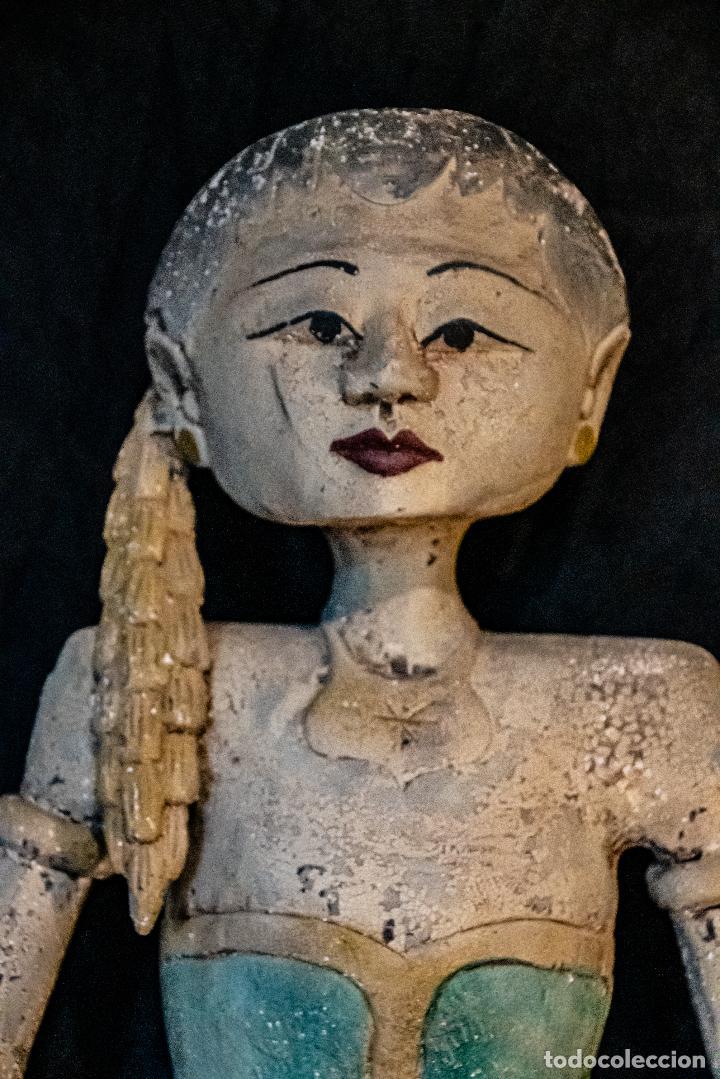 Arte: Pareja Loro Blonyo de isla de Java,vintage - Foto 5 - 222478802