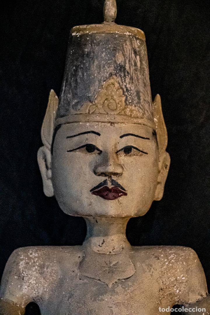 Arte: Pareja Loro Blonyo de isla de Java,vintage - Foto 7 - 222478802