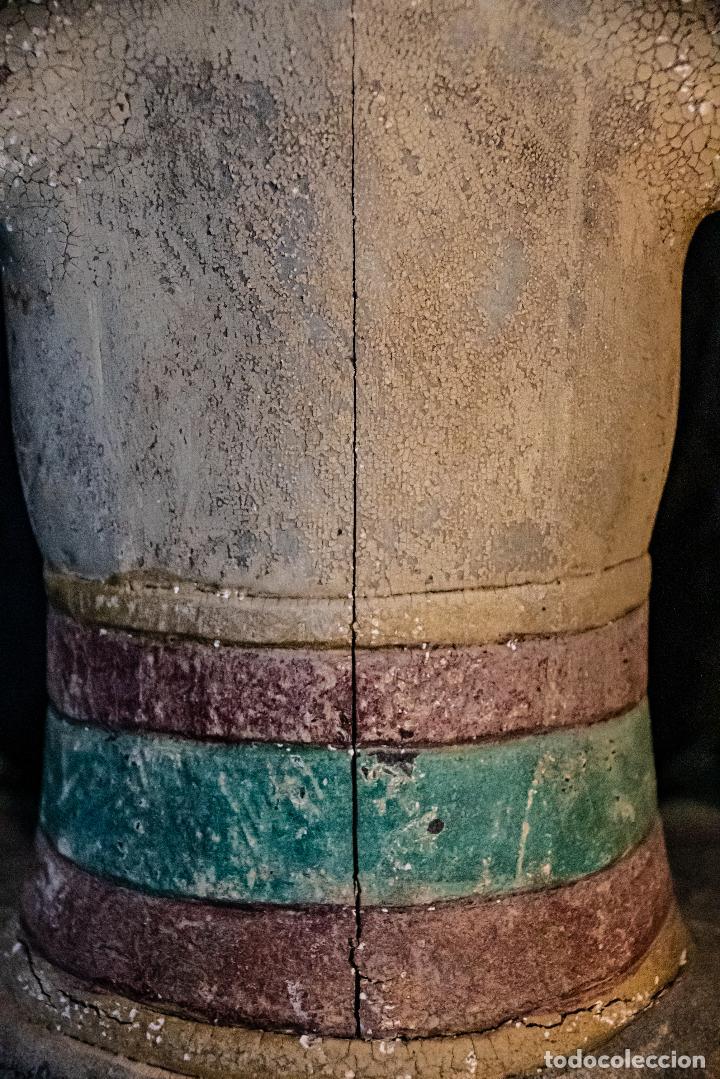 Arte: Pareja Loro Blonyo de isla de Java,vintage - Foto 9 - 222478802