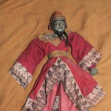 Arte: MARIONETA ANTIGUA ORIENTAL, TIBETANA 50 CM. Lote 222934752