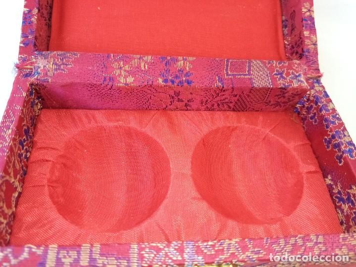 Arte: Bolas relajantes de jade.Con caja original. - Foto 5 - 223905933