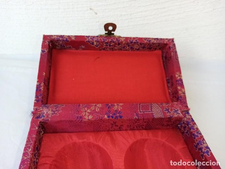 Arte: Bolas relajantes de jade.Con caja original. - Foto 6 - 223905933