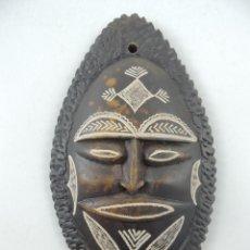 Art: ARTE AFRICANO MASCARA HECHA DE PIEDRA EXCELENTE DECORACION DE PARED. Lote 224609650