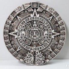 Arte: CALENDARIO MAYA - PARA COLGAR . MEDIDA DE DIAMETRO 35 / 36 CM. Lote 224760151