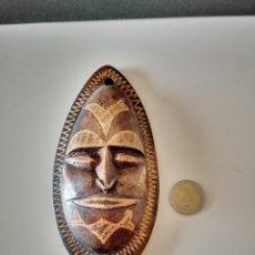 Art: PRECIOSA MASCARA AFRICANA ARTE AFRICANO ESCULTURA. Lote 224958200