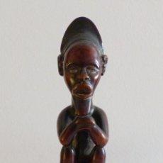 Arte: FIGURA AFRICANA DE MADERA, ETNIA BEMBE, R.D.CONGO.. Lote 225206103