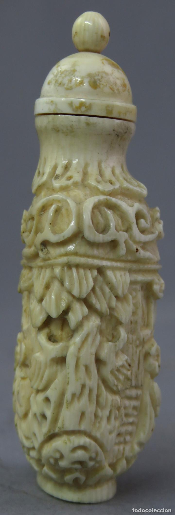 Arte: Perfumero chino tallado snuff bottle China siglo XIX - Foto 3 - 225310220