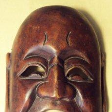 Arte: MÁSCARA JAPONESA EN MADERA - SIGLO XX, AÑOS SESENTA. Lote 225470032
