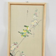 Arte: CHINA PINTURA , TINTA CHINA/ACUARELA FIRMADA Y SELLADA. Lote 225669825