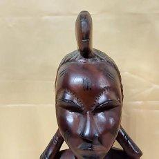 Art: FIGURA MUJER AFRICANA. Lote 225862335
