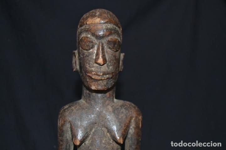 ESCULTURA LOBI, BURKINA FASO, AFRICA. ARTE AFRICANO (Arte - Étnico - África)