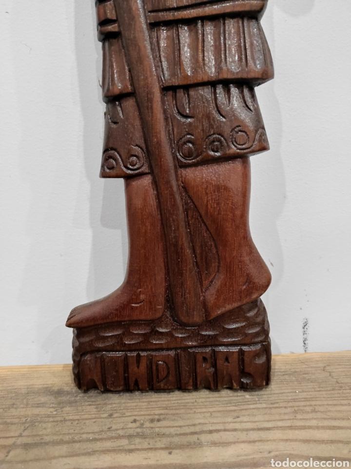 Arte: Talla de madera, relieve. Honduras. 53cm - Foto 2 - 228171070