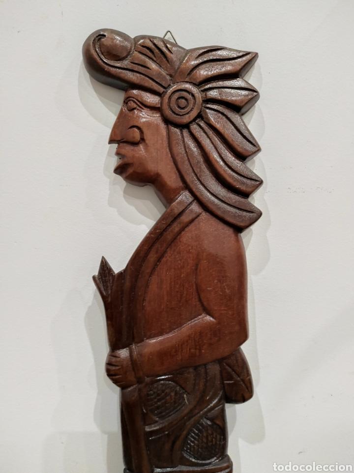 Arte: Talla de madera, relieve. Honduras. 53cm - Foto 3 - 228171070