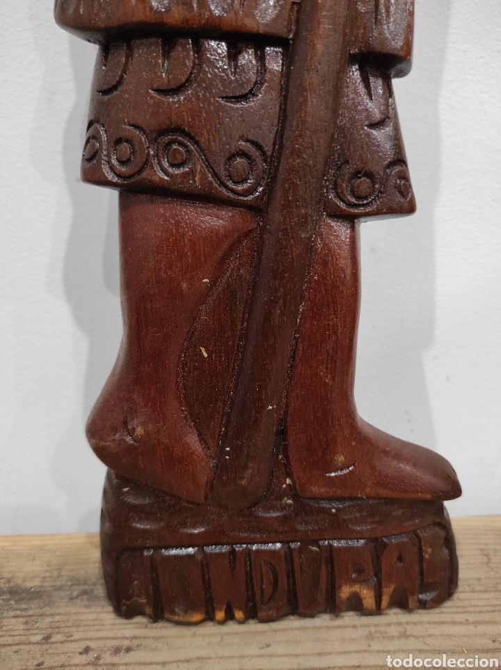 Arte: Talla de madera, relieve. Honduras. 53cm - Foto 2 - 228171395