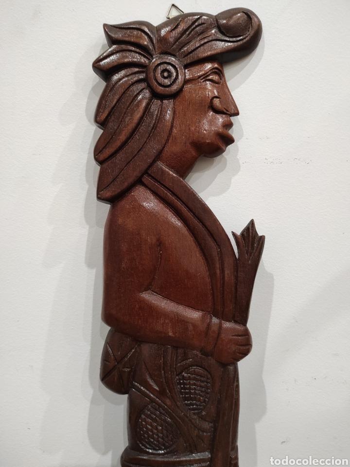 Arte: Talla de madera, relieve. Honduras. 53cm - Foto 3 - 228171395