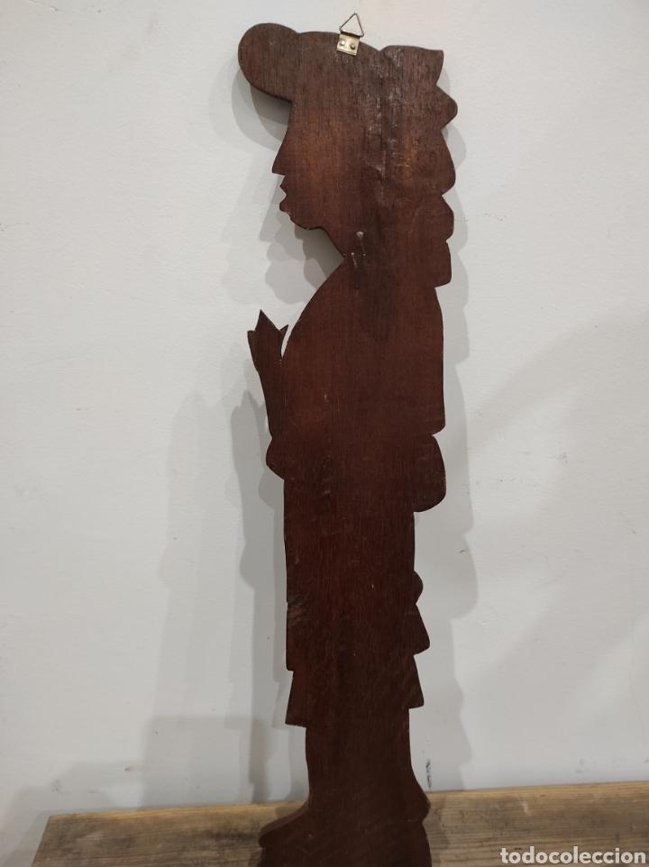 Arte: Talla de madera, relieve. Honduras. 53cm - Foto 4 - 228171395
