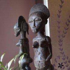 Arte: ARTE AFRICANO. ESCULTURA ETNIA BAULE BLOLO BLA. COSTA DE MARFIL. Lote 229596985