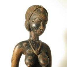 Arte: ARTE AFRICANO. ESCULTURA ETNIA SENUFO. COSTA DE MARFIL. Lote 229604450