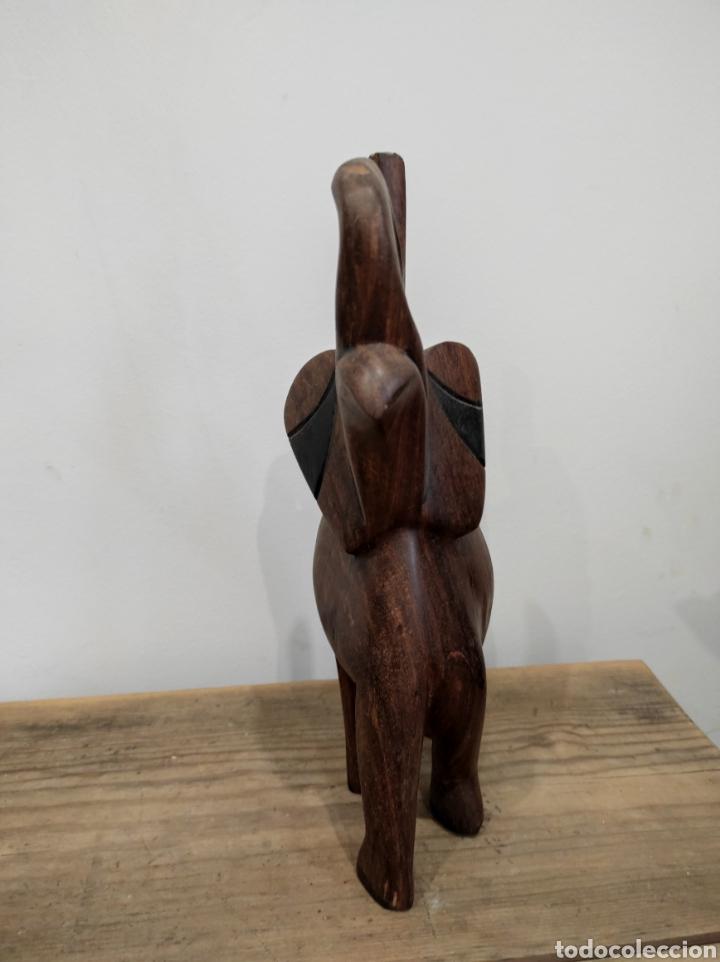 Arte: Talla africana elefante - Foto 4 - 230875665