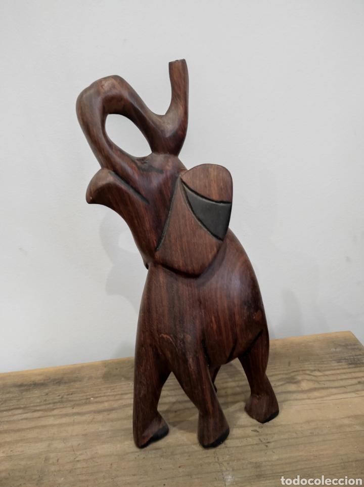 TALLA AFRICANA ELEFANTE (Arte - Étnico - África)